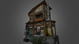 Urban Residence - Rise of Atlantis 3D Model