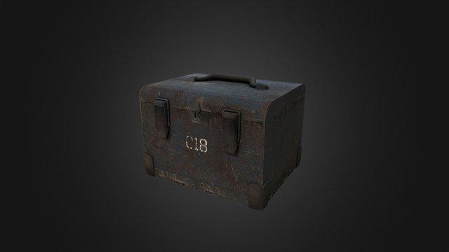 Raigneath - Rusty Container Crate 3D Model