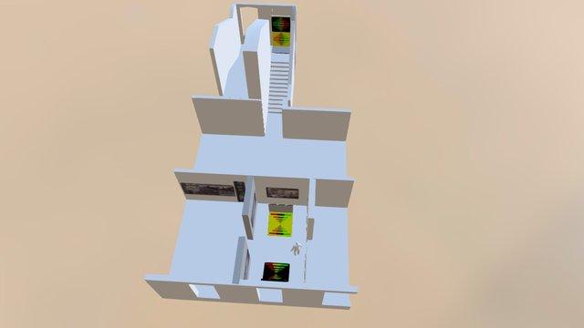 Proiect Memorial 3D Model