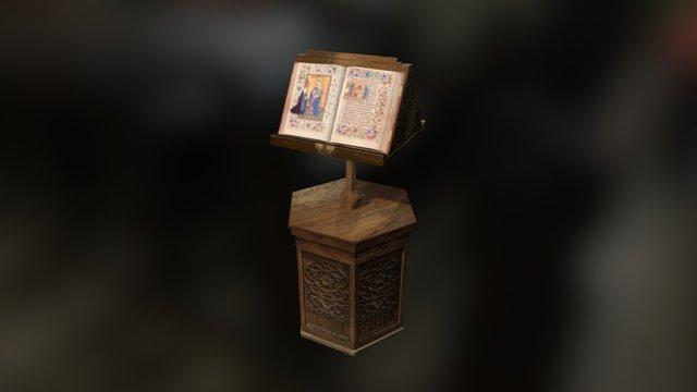 Facístol - Cartuja de Miraflores - UBU 3D Model