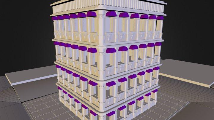 immeuble-hotel 3D Model