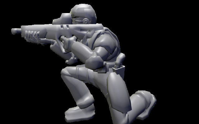 soldado 3D Model