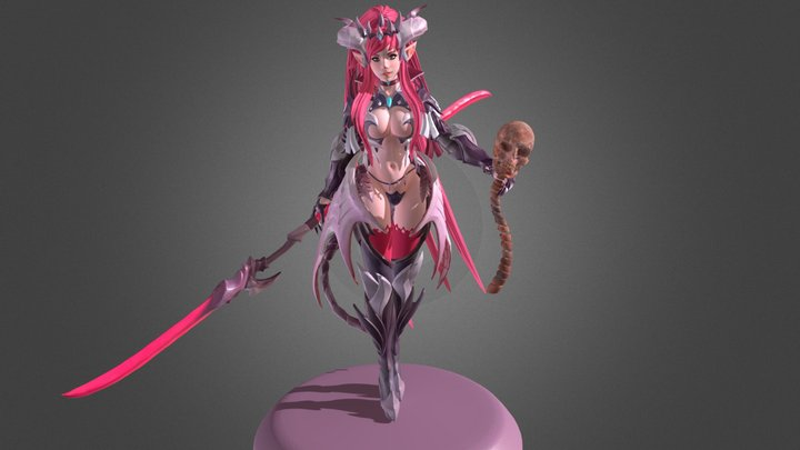 Vampire (includes T-pose) 3D Model
