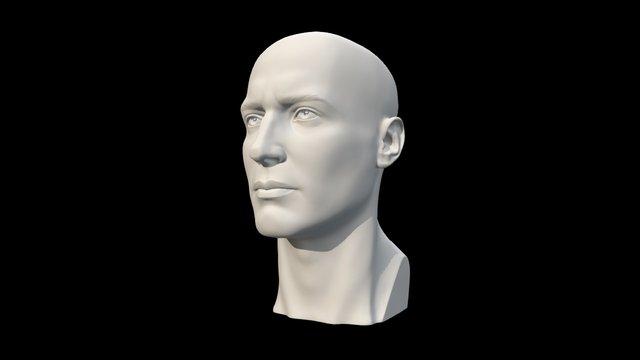 "Caucasian Male adult ""zero"" model 3D Model"