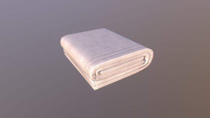 White Towel 3D Model