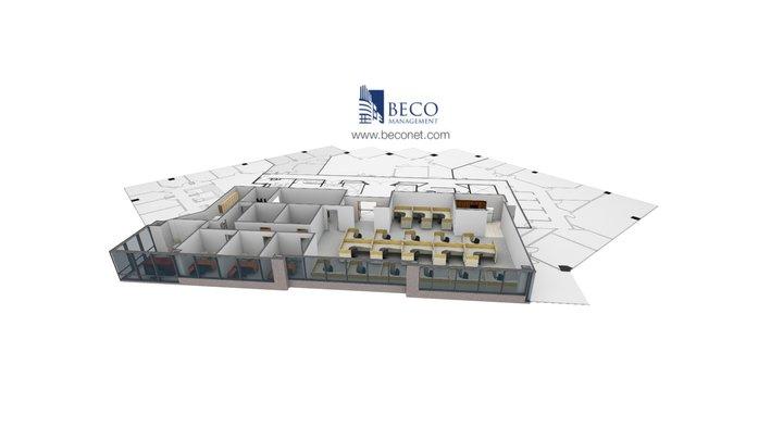 BECO Towers II - Suite 800 3D Model