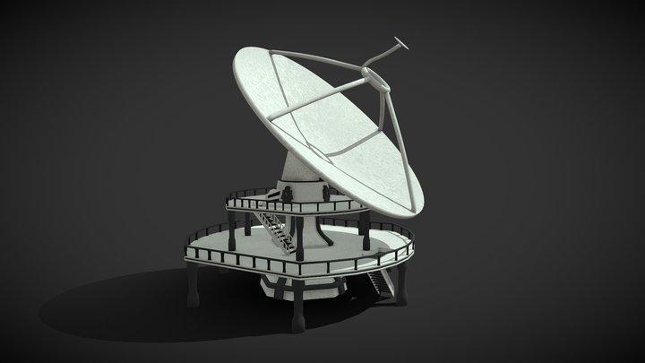 Ground Satellite Station I 3D Model