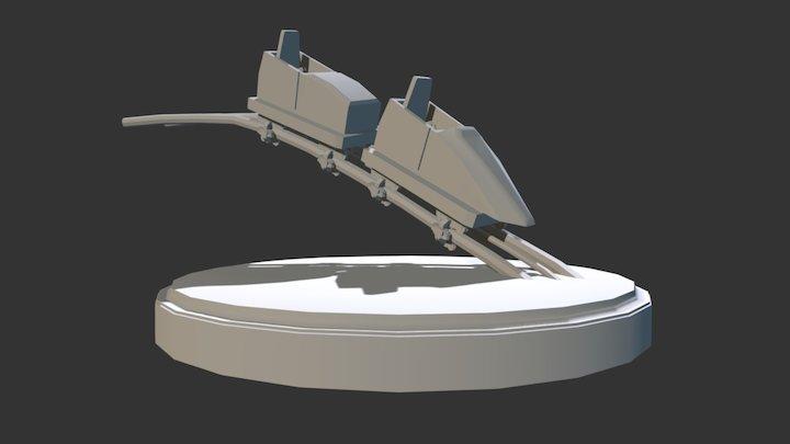 Coaster Project 3D Model