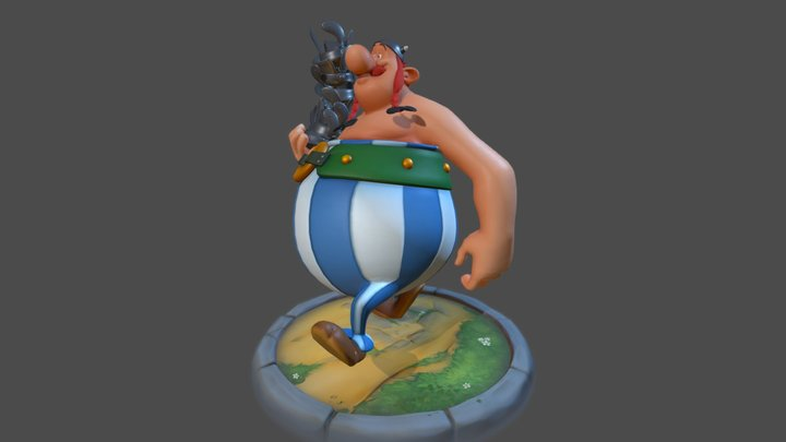 Obelix 3D Model