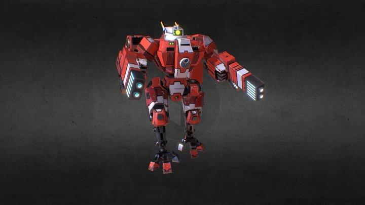 Tau Crisis Suit 3D Model