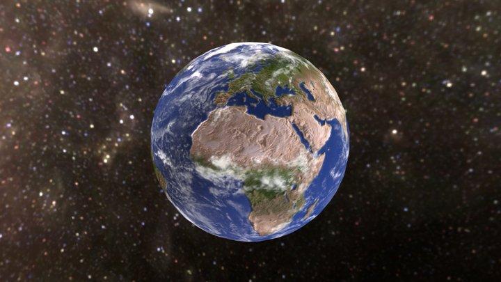 Terra- Modello 3D 3D Model