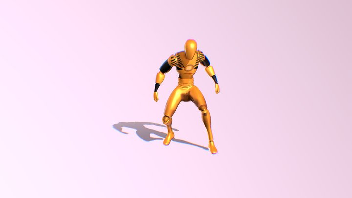 Dummo Training Bot 3D Model