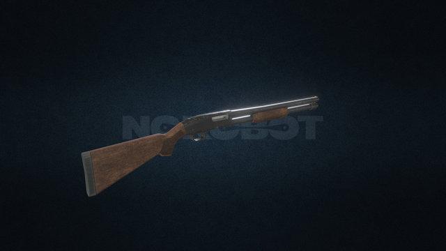 Shotgun - Modern Guns 3D Model