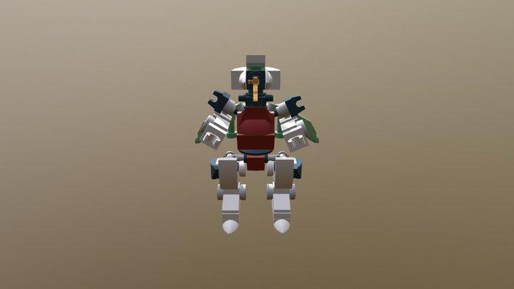 DragChubOn 3D Model