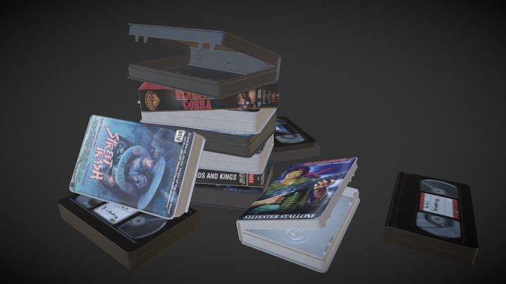 WIP - Props VHS's 3D Model