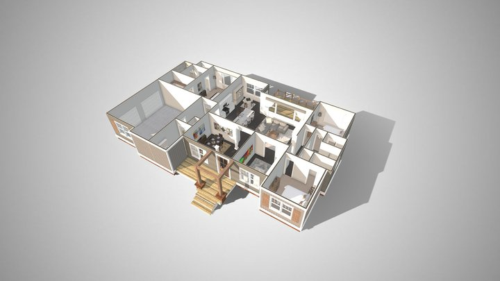 The Maxwell Floorplan 3D Model
