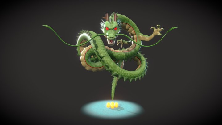 Shenron - Dragon Ball 3D Model