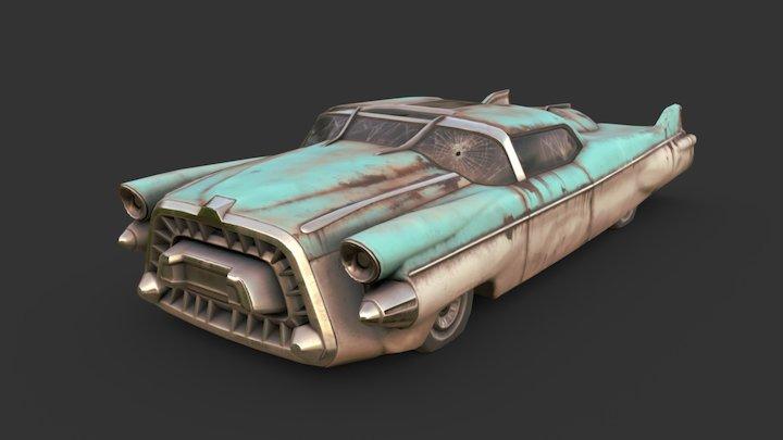 Fallout - Corvega Atomic V8 3D Model