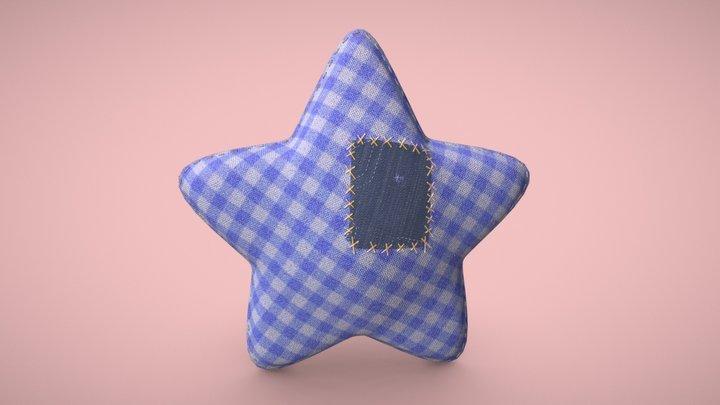 Star soft toy 3D Model