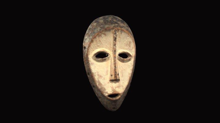 Lega People Bwami Society Rank Mask 3D Model