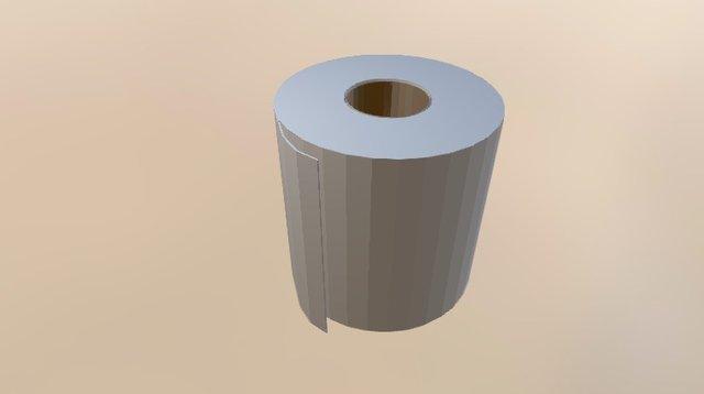 PAPEL IGIENICO 3D Model