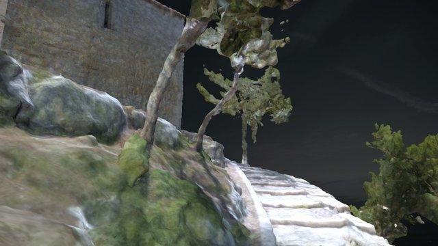 Chapelle St Michel à St Mitre-les-Remparts 3D Model