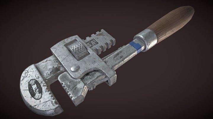 draftpank3 HW20 (Wrench) 3D Model