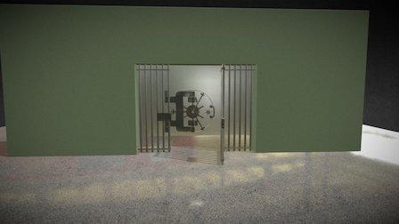 vault 3D Model