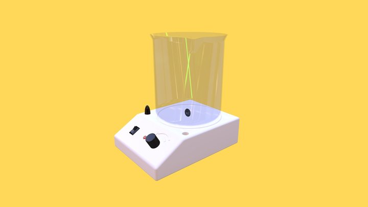 Magnetic Stirrer 3D Model