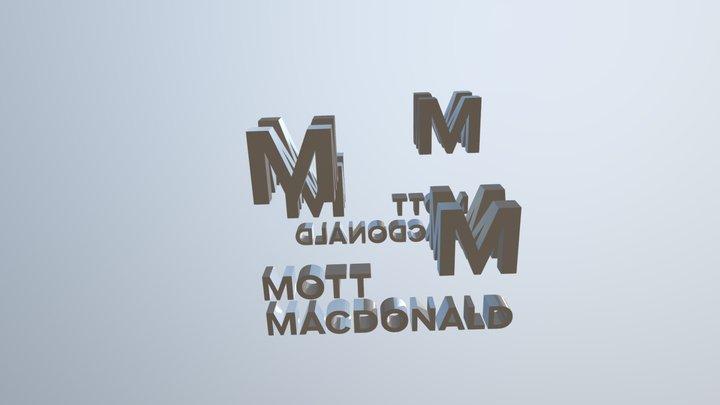Mm Logo 3D Model