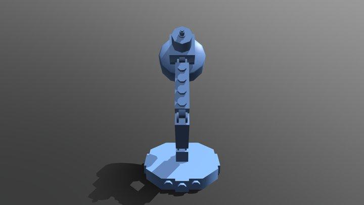 Lego Lamp 3D Model