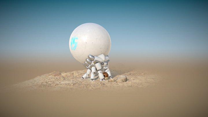 SphereBot 3D Model
