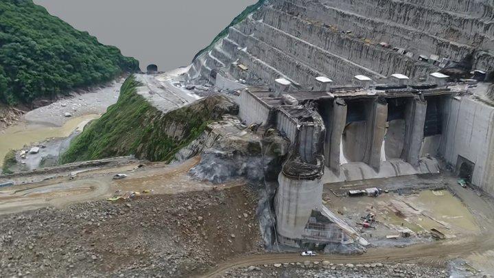Hidroituango hydroelectric power plant 053018 B 3D Model