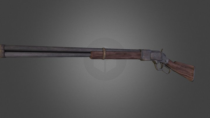 Winchester44 3D Model