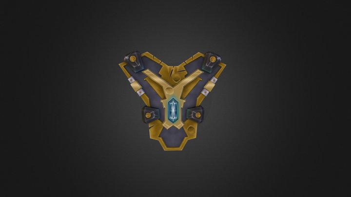 World of Warcraft Ulduar Celestial Shield 3D Model