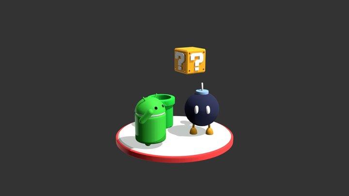 Primeiro Modulo - 3DS 3D Model
