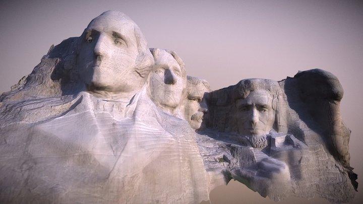 Mount Rushmore III 3D Model