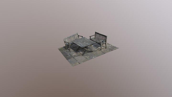 pip table 3D Model