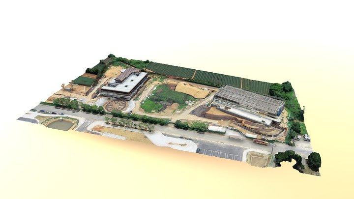 hakkatea museum construction 3D Model