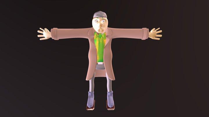 Professor Greypelmann 3D Model
