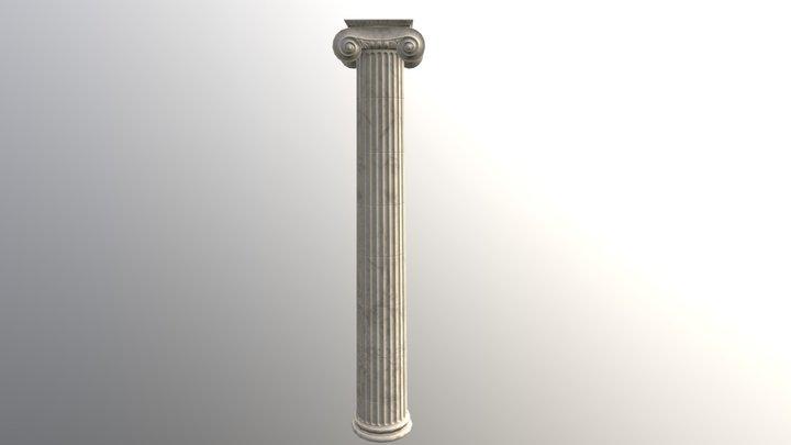 Ionic column 3D Model