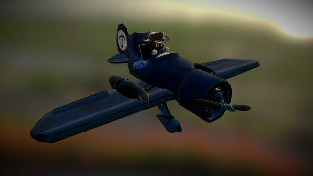 Jetty - Animated Propeller 3D Model