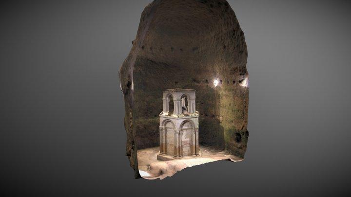 Reliquaire de l'église troglodytique d'Aubeterre 3D Model