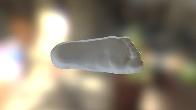 Cast Scan Sample I Qube 3D Model