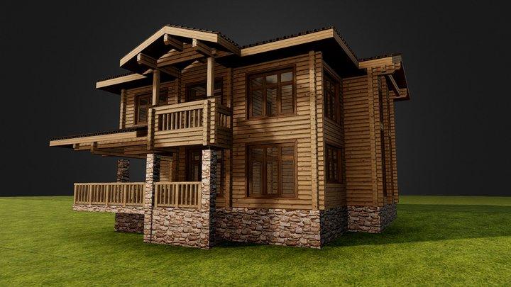 Проект дома_ 3D Model