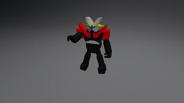 鐵金剛 3D Model