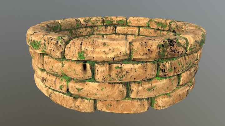 Forest Well 3D Model