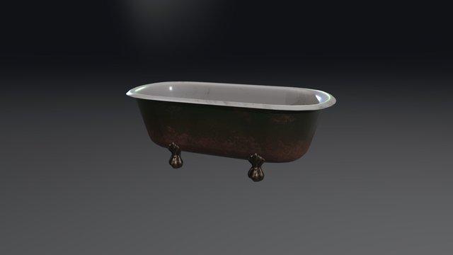 Old Bath 3D Model
