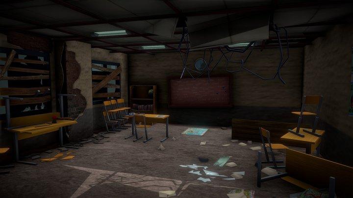 Day 3. Abandoned school room 3D Model