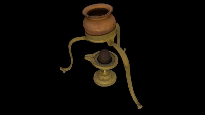 Shiva Lingam 3D Model